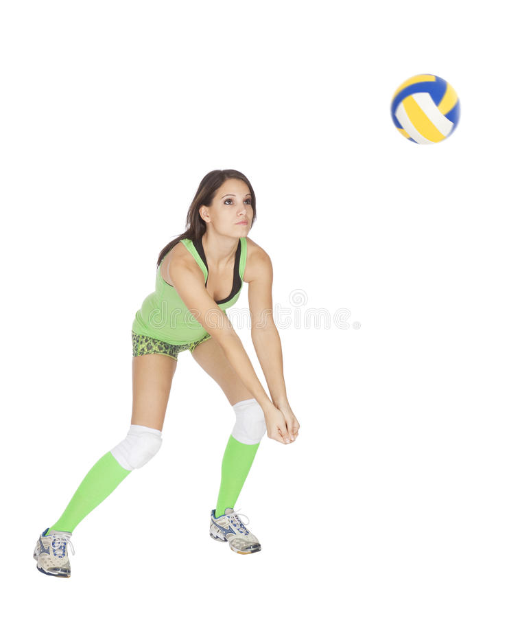 Download Volleyball stock photo. Image of people, ball, sport - 17375488