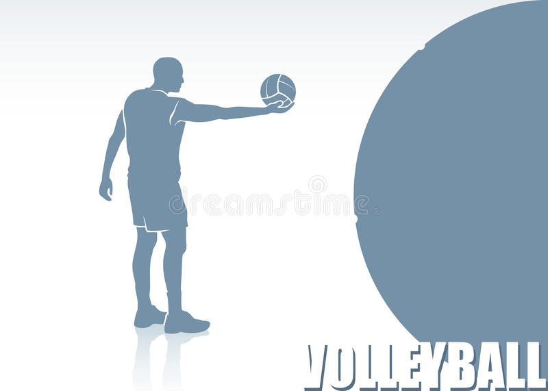 Volleyball Royalty Free Stock Photo