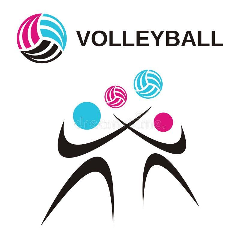 Volleyball lizenzfreie abbildung