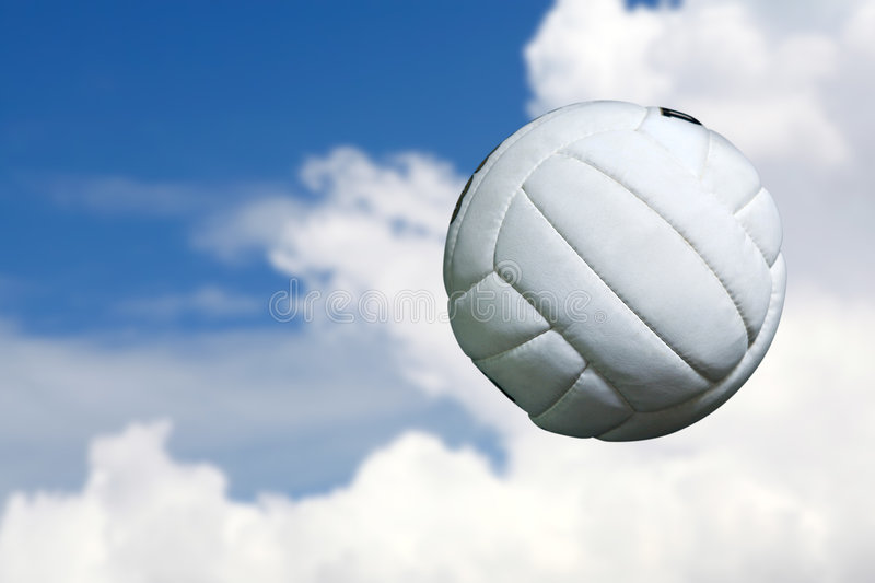 Volleyball image stock