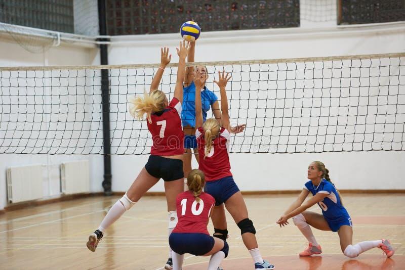Volleyball royalty-vrije stock afbeeldingen