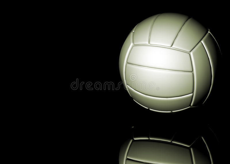 Download Volleyball stock illustration. Image of volleyball, artistic - 5432028