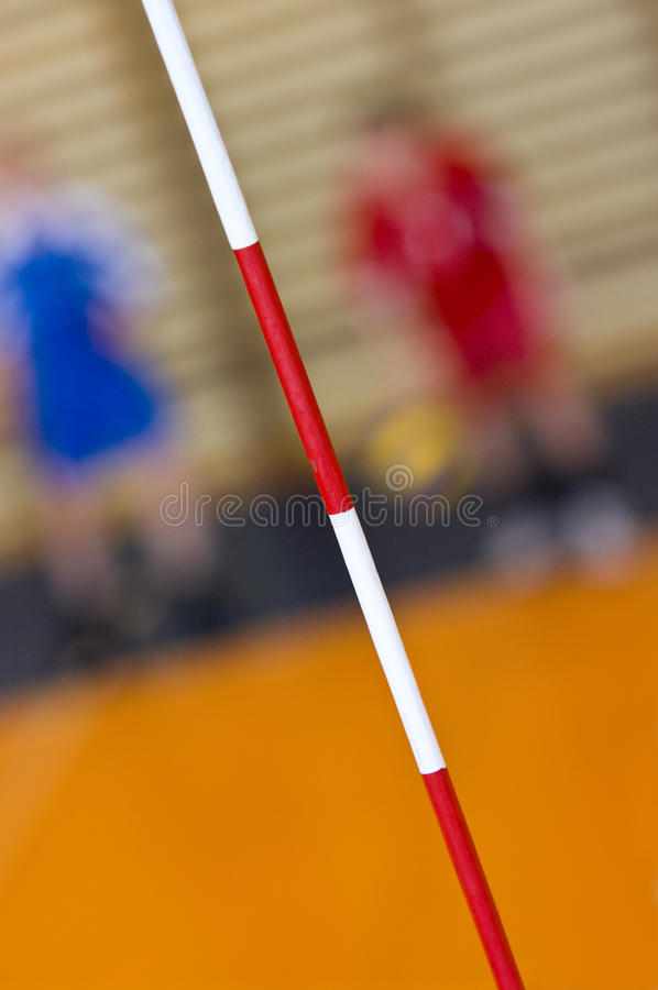 Volleyball abstract stock image