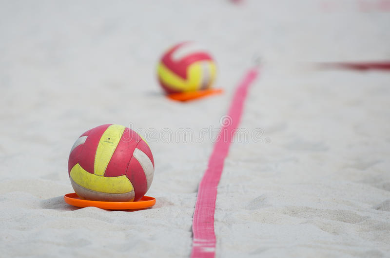 Volleyball ball royalty free stock photo