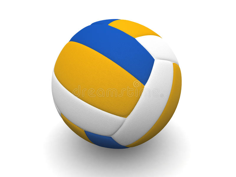 Volleyball ball stock photography