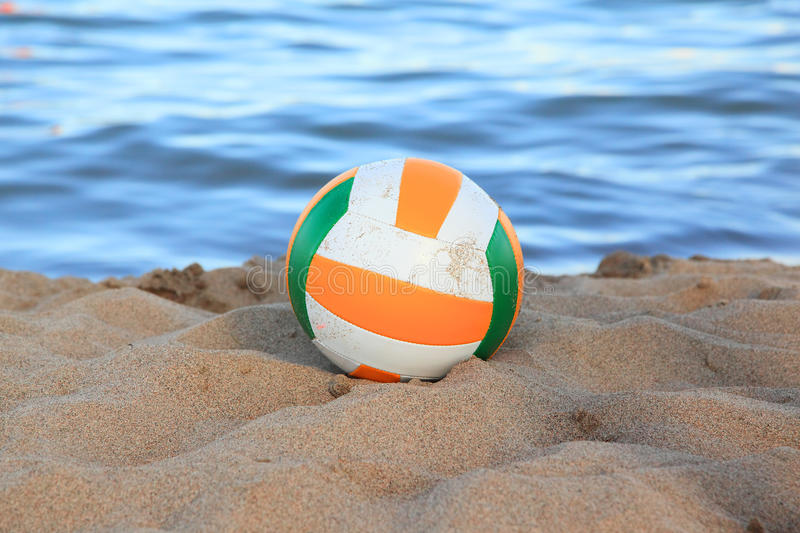 Download Volleyball On The Beach Royalty Free Stock Image - Image: 17280216