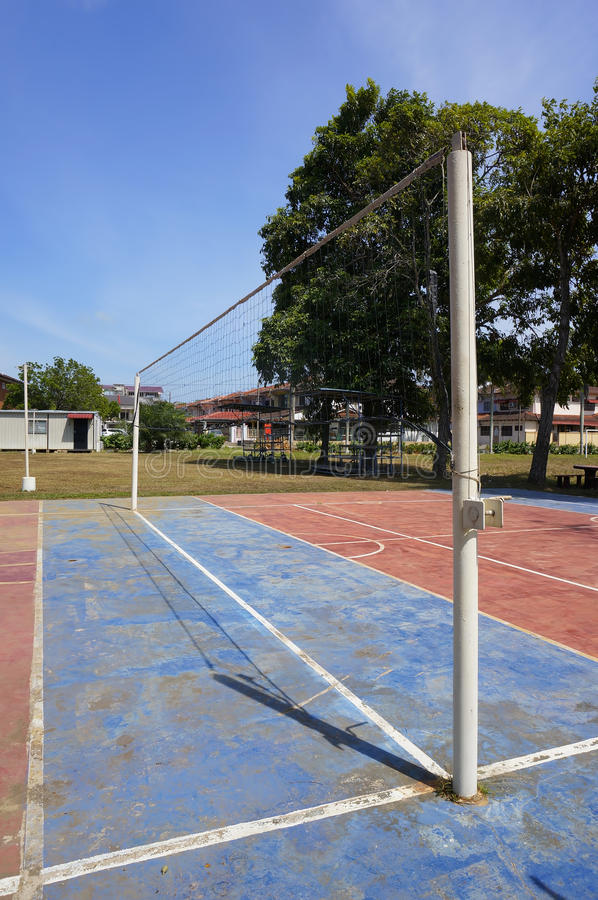 Download Volleyball court stock image. Image of shoot, outdoor - 39508937