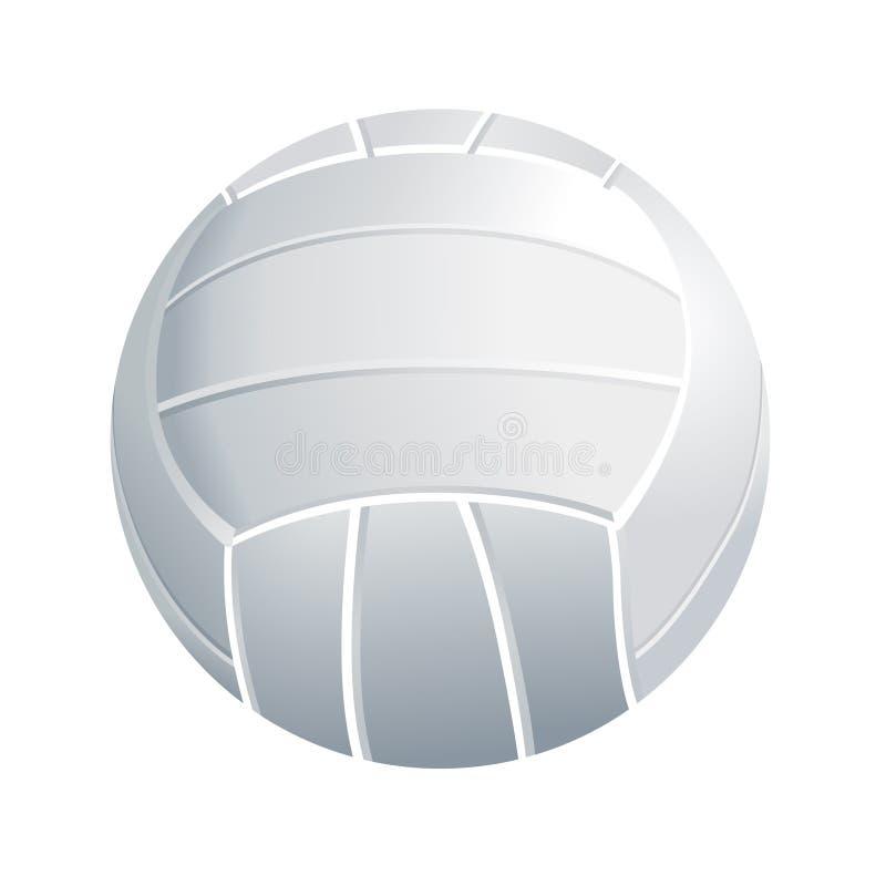 volleyball de vecteur illustration de vecteur