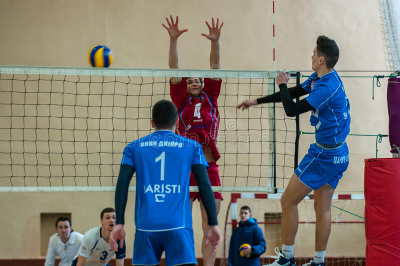 Volleyball Game Ukrainian Super League Vc Dnipro Vc ...