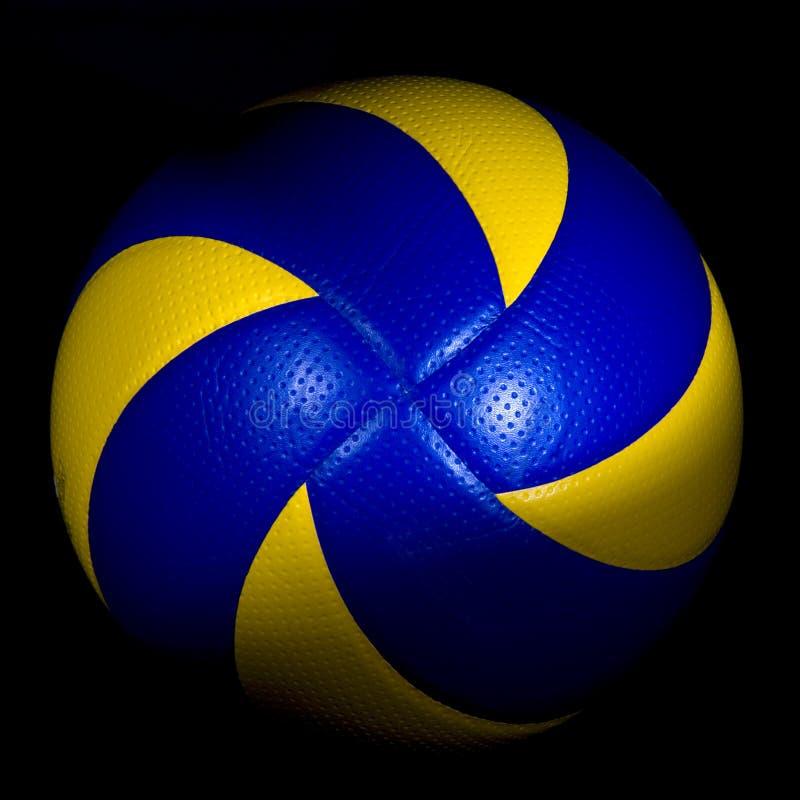 Volleyball getrennt lizenzfreies stockbild