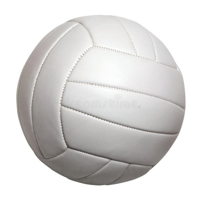 Volleyball isolated stock photos