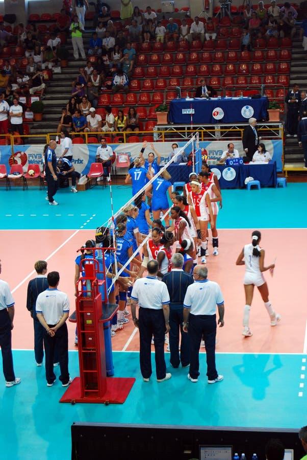 Volleyball : Monde Prix grand photographie stock libre de droits