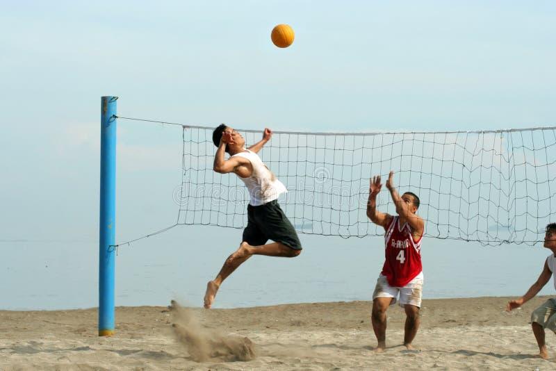 Volleyball op het strand