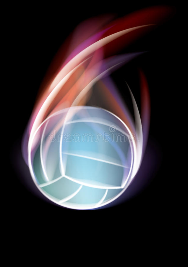 Free Volleyball Symbol Royalty Free Stock Photography - 18096747