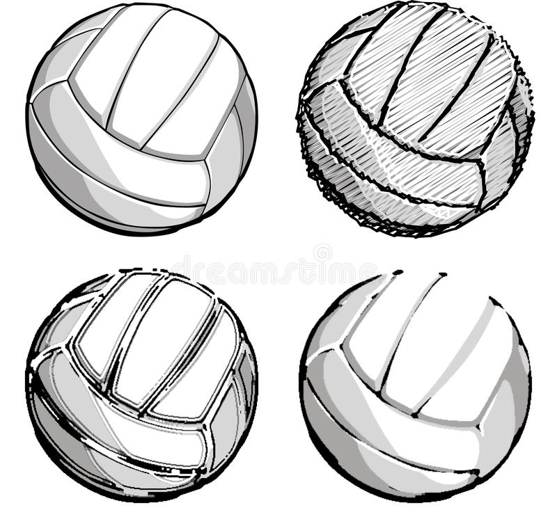 Download Volleyball / Volleyballs Vector Images Stock Illustration - Image: 10608995