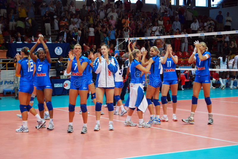 Volleyball: World Grand Prix stock image