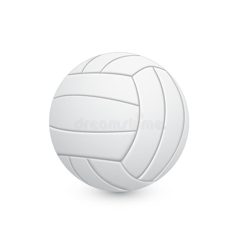 Volleyballball stock abbildung