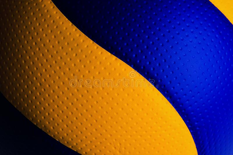 Volleyballball lokalisiert lizenzfreie stockfotos