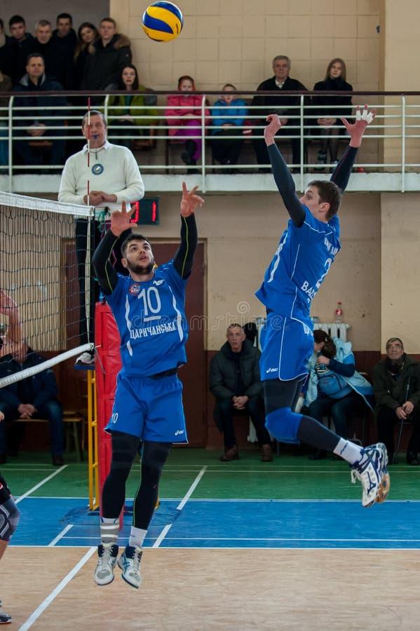 Volleyballspiel stockfotografie