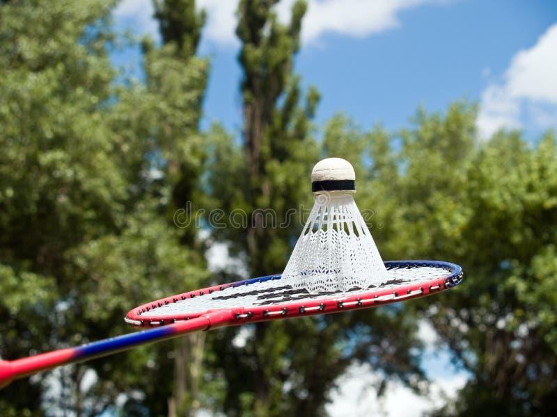Volleybalschläger betriebsbereit zu spielen lizenzfreies stockfoto