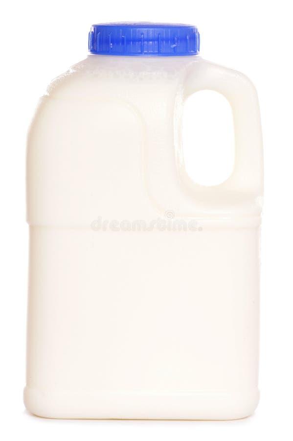 Vollfettpint Milch stockfoto