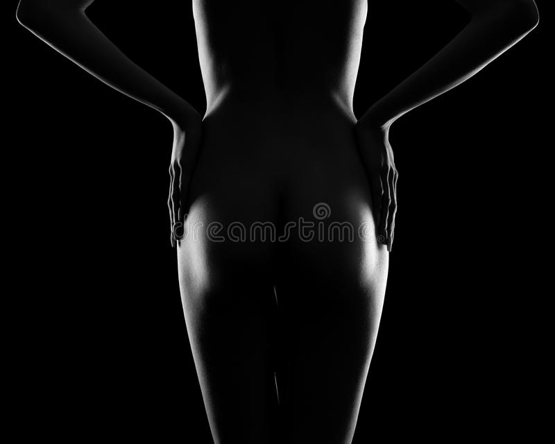 Download Vollkommene Frauenkarosserie Stockfoto - Bild von fetisch, fein: 90235260
