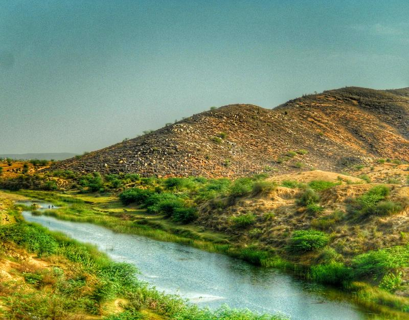 Vollkommene Landschaft lizenzfreie stockbilder