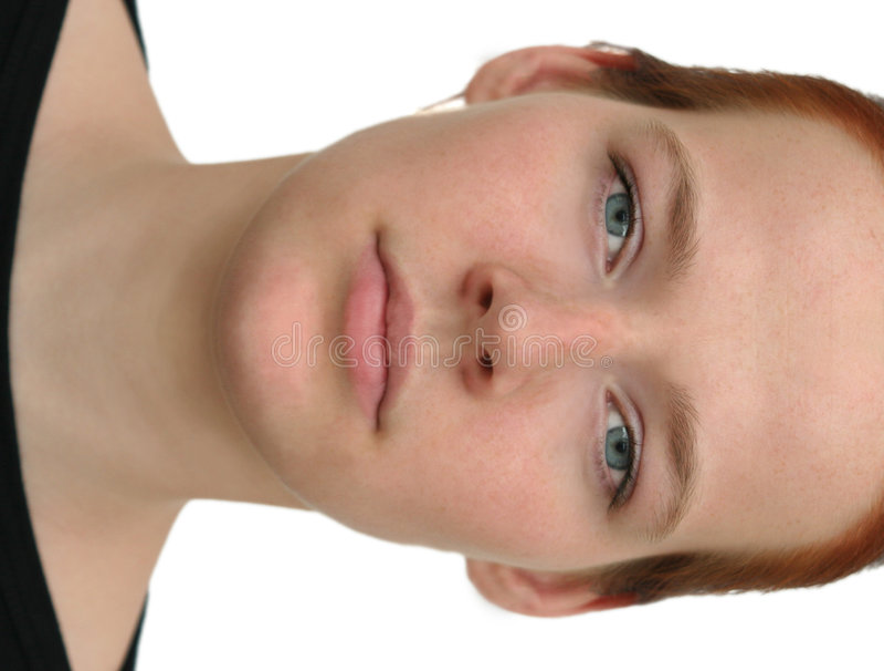 Vollkommenes Gesicht stockfoto