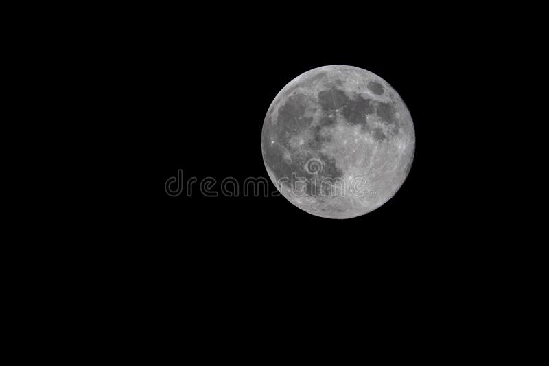 Full Moon at night stock photos