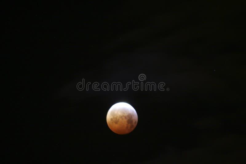 Vollmond mit Eklipse lizenzfreies stockbild