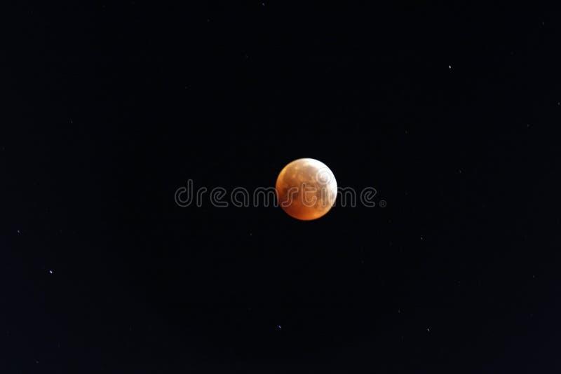 Vollmond mit Eklipse stockfotos