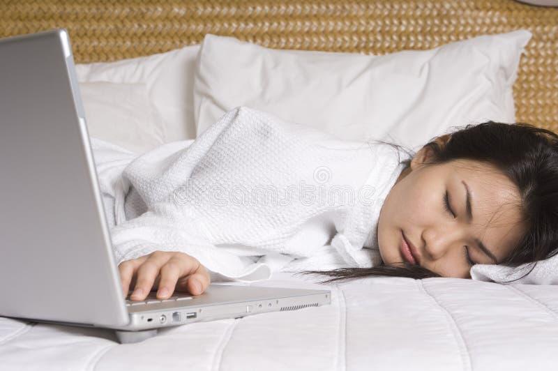 Vollständig ermüdetes #1 stockfoto