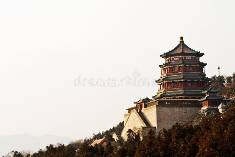 Vollständige Ansicht des Pavillions des Dufts von Buddaha stockfoto
