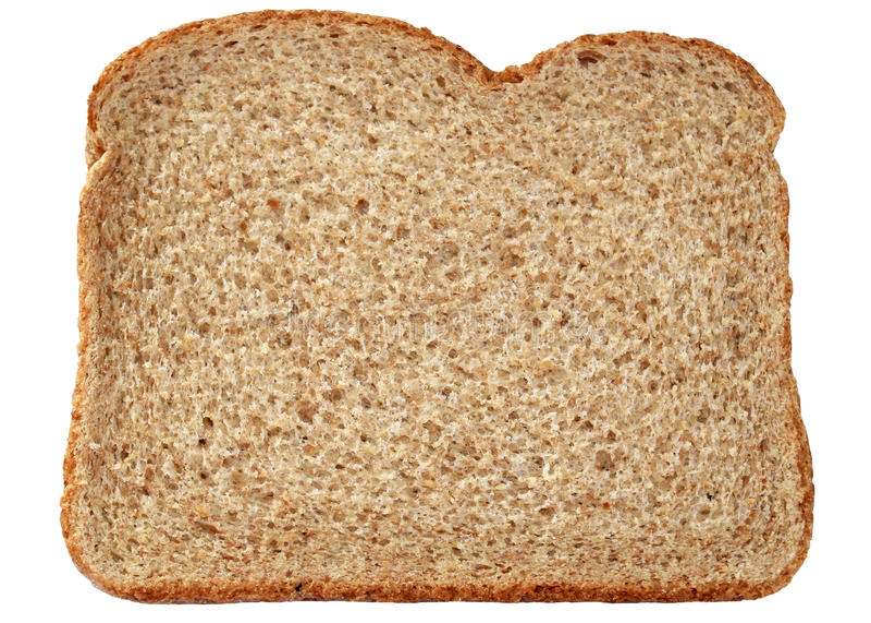 Vollweizen-Brot stockfoto