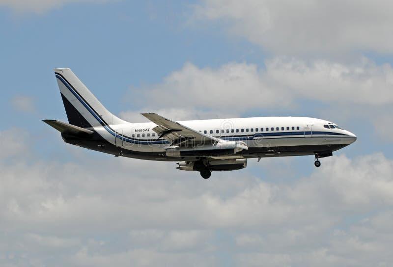 Volo charter da Miami in Cuba immagine stock