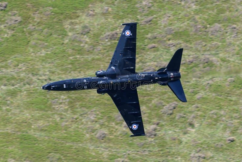 Volo del T2 di RAF Hawk attraverso il ciclo di Mach immagine stock