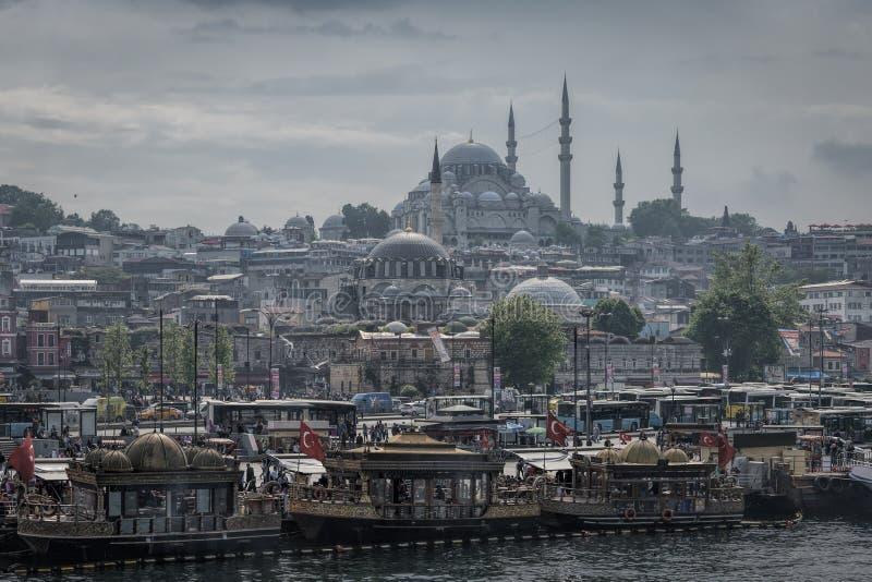 Volo dell'uccello - 1 Costantinopoli La Turchia fotografia stock