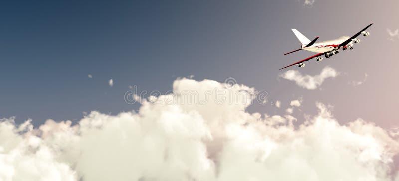 Download Volo Piano In Luce Del Giorno Immagine Stock - Immagine di aria, aeronautico: 3877447
