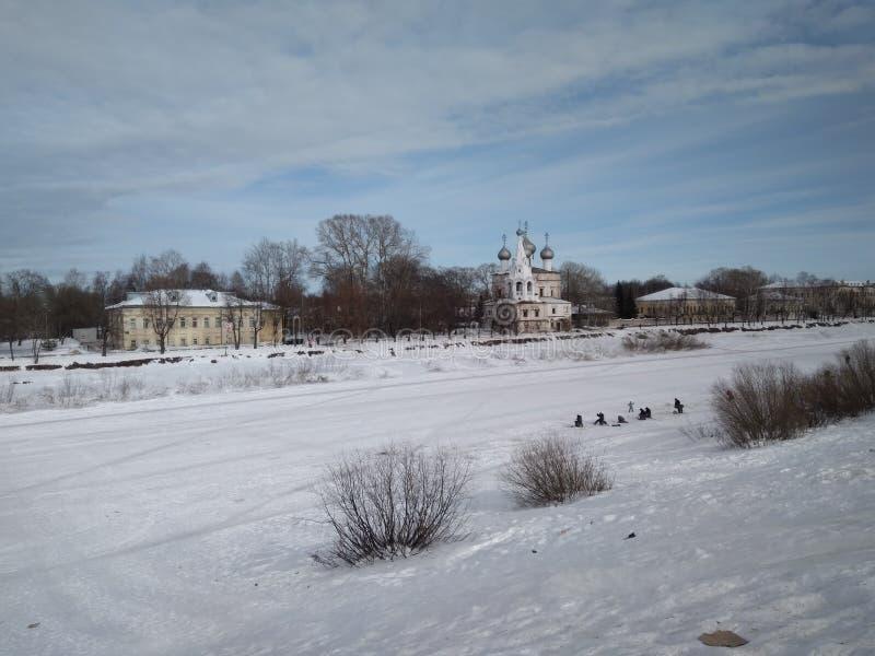 Vologda,俄国 免版税图库摄影