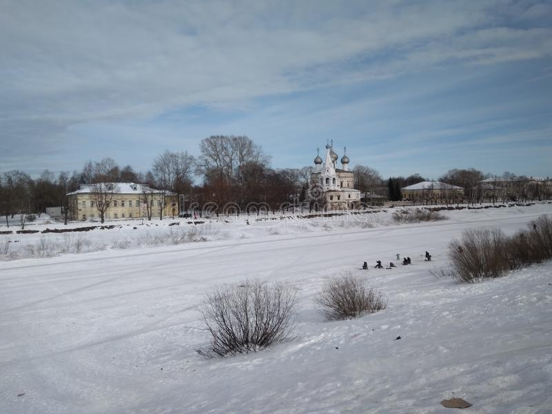 Vologda, Ρωσία στοκ φωτογραφία με δικαίωμα ελεύθερης χρήσης