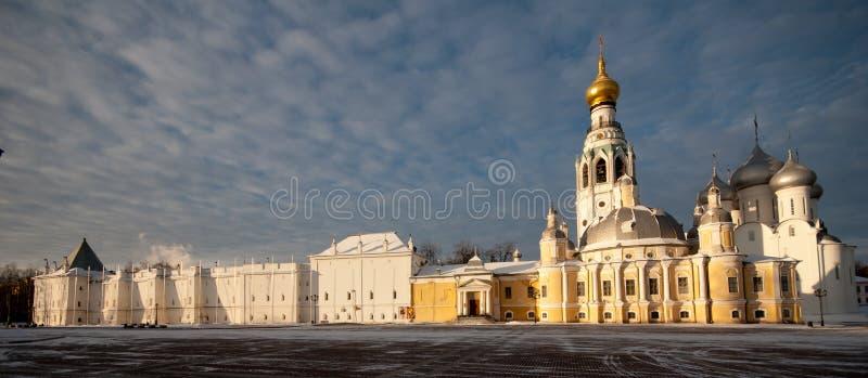Vologda el Kremlin imágenes de archivo libres de regalías