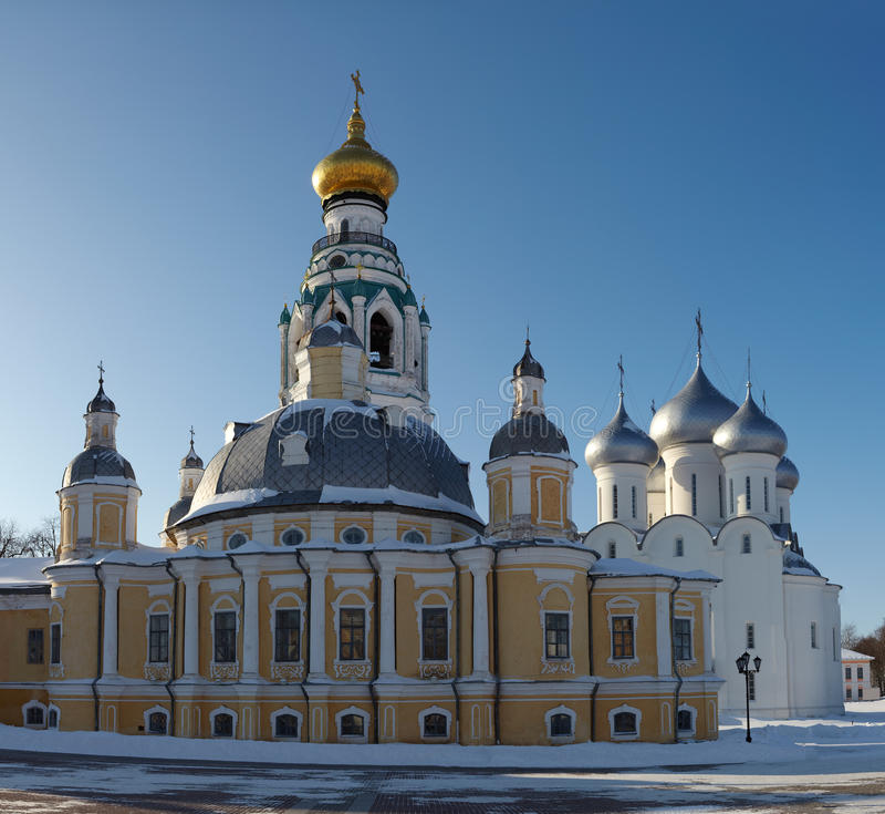 Vologda Kremlin en Russie photographie stock libre de droits