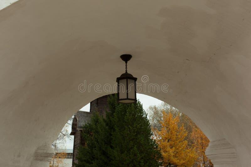 Vologda, Rusland Het Klooster spaso-Prilutsky is een Russisch Orthodox klooster stock foto's