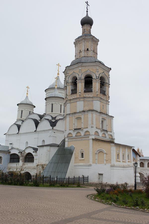 Vologda, Rusland Het Klooster spaso-Prilutsky is een Russisch Orthodox klooster royalty-vrije stock afbeelding