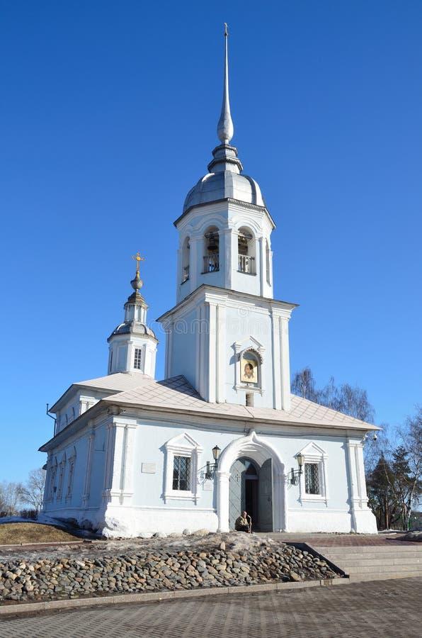 Vologda, Russie L'?glise d'Alexander Nevsky sur la place de Kremlevskaya dans Vologda photographie stock
