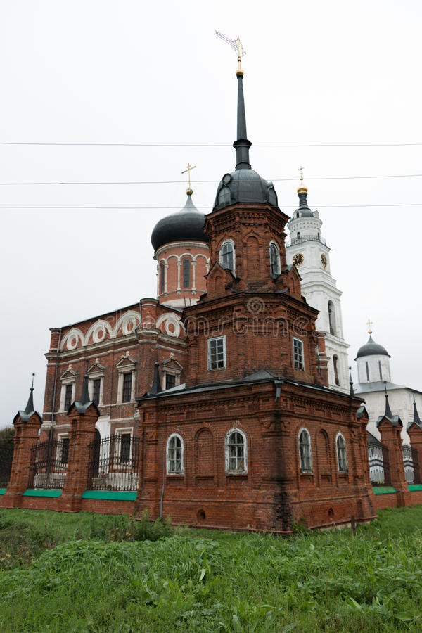 Download Volokolamsk Kreml, Ryssland Fotografering för Bildbyråer - Bild av kors, kremlin: 78731521