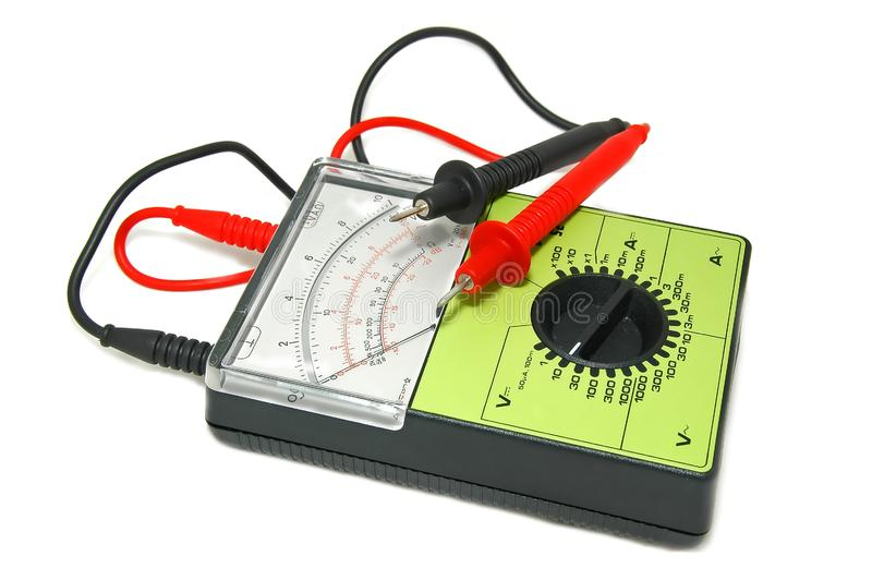 Voltímetro/Ampermeter imagem de stock
