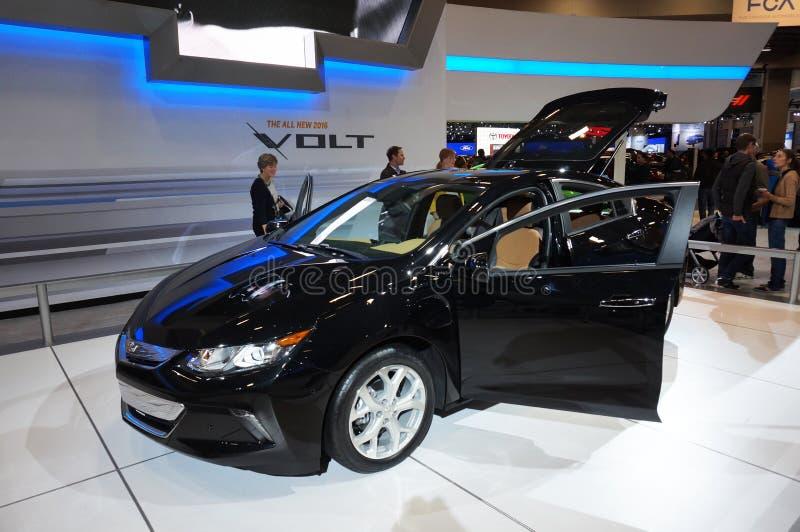 Volt 2016 de Chevrolet imagens de stock