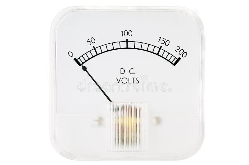 Volt Meter stock photo