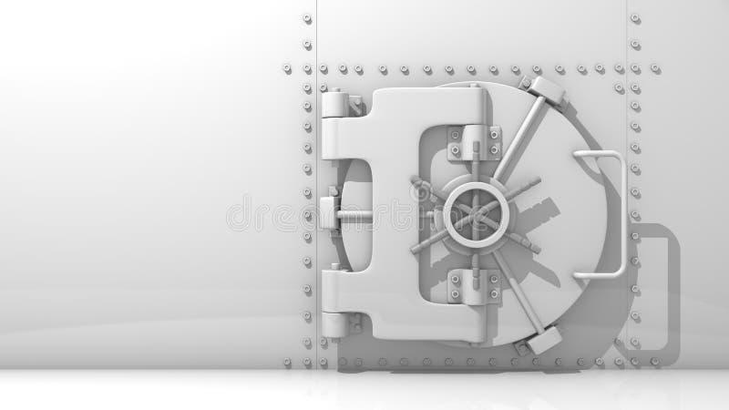 Volta della Banca illustrazione di stock
